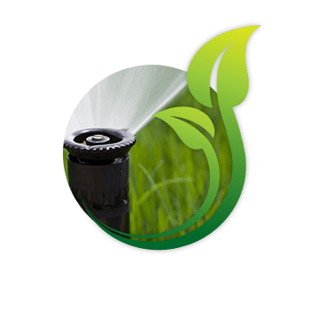 Irrigation Icon On Home Page