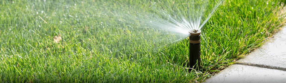irrigation system installation